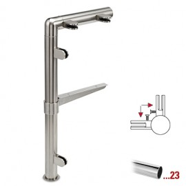 "Chroom design 90° hoekstaander, model 131, Ø 25,4 mm (1"")"