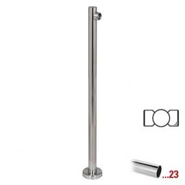 """Chroom design middenstaander Ø 50,8 mm (2"""") voor Geleidingssysteem 831"""