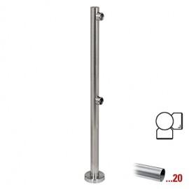 """RVS design hoekstaander 90° Ø 50,8 mm (2"""") voor Geleidingssysteem 832"""